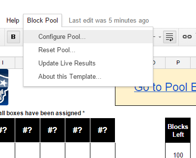 automate your office super bowl pool with google sheets and a